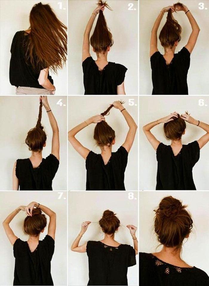 Очень простая причёска