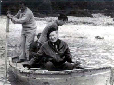 cevat-sakir-on-a-boat