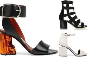 blok topuklu ayakkabı