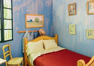 van gogh yatak odası