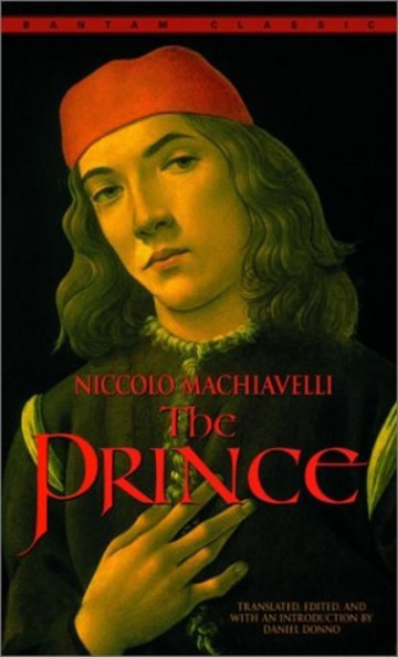 what 3 pages of sage advice does machiavelli impart to the prince in chapter 20